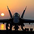 Sailors Prepare An Fa-18c Hornet by Stocktrek Images
