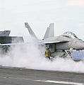 Sailors Prepare An Fa-18f Super Hornet by Stocktrek Images