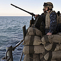 Sailors Stand Small Caliber Attack Team by Stocktrek Images