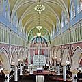 Saint Bridgets Gothic Church by Susan Candelario