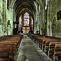 Saint Emilion Church by Wes and Dotty Weber