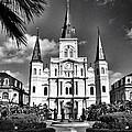Saint Louis Cathedral by Scott Crump