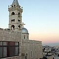 Saint Nicholas Church Beit Jala by Munir Alawi