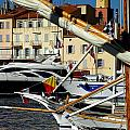 Saint Tropez Harbor by Lainie Wrightson