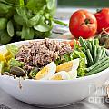 Salad Nicoise by Charlotte Lake