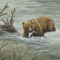 Salmon For Lunch by Dee Carpenter