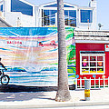 Salt Water Taffy Panorama Balboa California by Thomas Marchessault