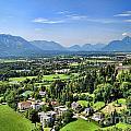 Salzburg IIi Austria Europe by Sabine Jacobs