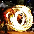 Samoan Fire Dancer by Craig Wood