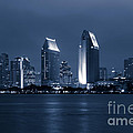 San Diego At Night by Paul Velgos