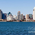 San Diego Skyline Buildings by Paul Velgos
