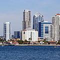 San Diego Skyline by Jeff Lowe