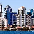 San Diego Skyline Photo by Paul Velgos
