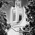 San Felipe De Neri Parish - Infrared by Bill Barber