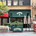 San Francisco - Maiden Lane - Mocca Cafe - 5d17788 by Wingsdomain Art and Photography