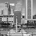 San Francisco - Union Square - 5d17938 - Black And White by Wingsdomain Art and Photography