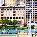 San Francisco - Union Square - 5d17938 - Square - Painterly by Wingsdomain Art and Photography