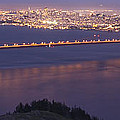 San Francisco Dusk by Wes and Dotty Weber