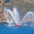 San Francisco Fire Boat by Tom Singleton