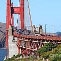 San Francisco Golden Gate Bridge . 7d8151 by Wingsdomain Art and Photography
