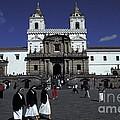 San Francisco Monastery Quito Ecuador by John  Mitchell