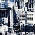 San Francisco Skyline-grunge by Douglas Barnard