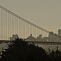 San Francisco Sunrise by Wes and Dotty Weber