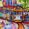 San Francisco Trolley by Suzanne Willis
