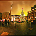 San Francisco Union Square Xmas by Blake Richards