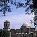 San Jose Mission San Antonio Texas by John  Mitchell