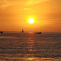San Juan Capistrano Beach Sunset by Bill Cannon