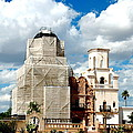 San Xavier Del Bac Mission by Jon Berghoff