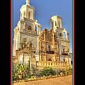 San Xavier Mission 15 by Larry White