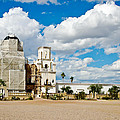 San Xavier Mission Tucson Az  by Jon Berghoff