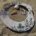 Sand On A Half Shell by Trish Tritz