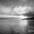 Sand Point Black And White  by Dana Kern