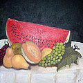 Sandia Con Frutas by Veronica Zimmerman