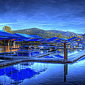 Sandpoint Marina And Power House 1 by Lee Santa