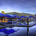 Sandpoint Marina And Power House 2 by Lee Santa