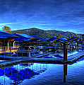 Sandpoint Marina And Power House 3 by Lee Santa