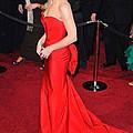 Sandra Bullock Wearing Vera Wang Dress by Everett