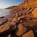 Sandstone Cliffs, Cape Turner, Prince by John Sylvester