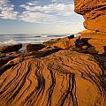 Sandstone Cliffs, Cavendish, Prince by John Sylvester