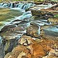 Sandstone Falls In The New River by Adam Jewell