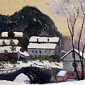 Sandviken Norway by Claude Monet