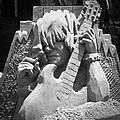Sandy Rock Musician by Teresa Mucha
