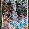 Santa Amelia Waterfall Quilt by Sarah Hornsby