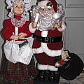 Santa Couple by Sally Weigand