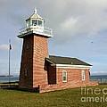 Santa Cruz Lighthouse by Carol Groenen