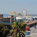 Santa Monica Pier by Carol Ailles
